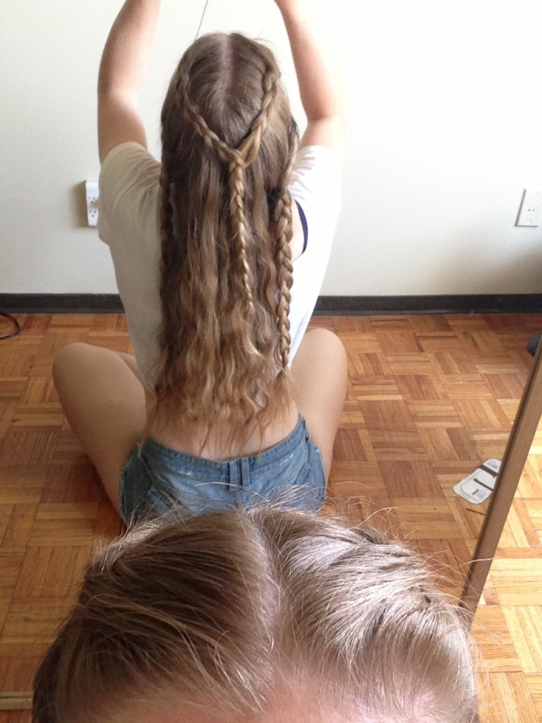 Khaleesi Hair Braids