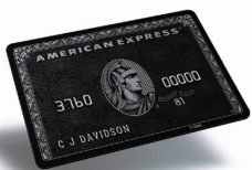 AMEX centurion black card