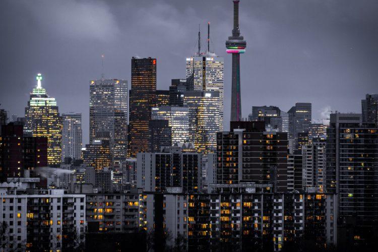$1000 per month in Toronto