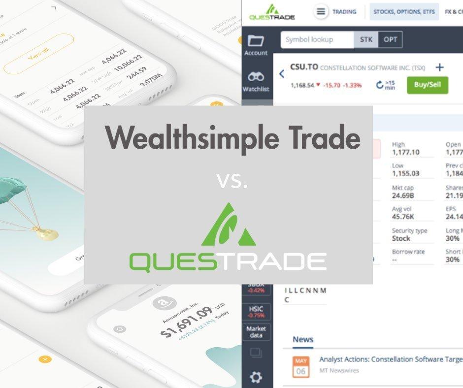 Wealthsimple Trade vs Questrade • Money After Graduation