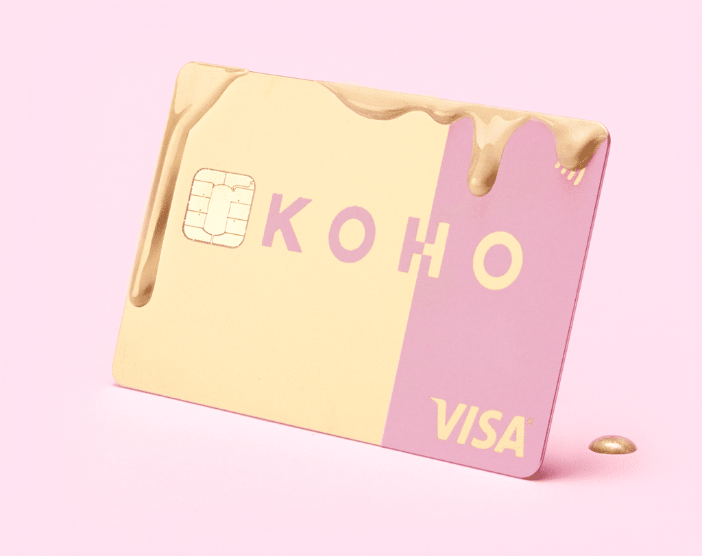 new koho metal card
