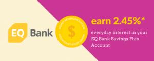 EQ Bank Savings Plus Account